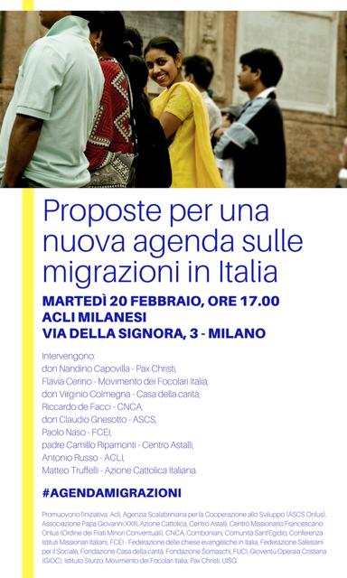 Proposte per una nuova agendasulle migrazioni in Italia (2)